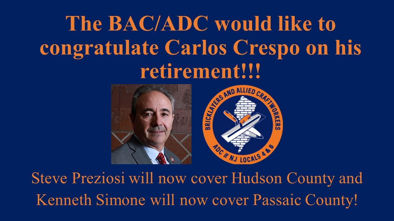 Carlos Crespo Retirement